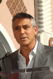 George Clooney, John Wells Royalty Free Stock Images