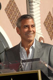 George Clooney, John Wells Stock Photo