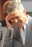 George Clooney, John Wells Stock Images