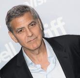 George Clooney na conferência de imprensa para o ` de Suburbian do ` no festival de cinema internacional 2017 de Toronto foto de stock