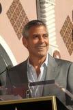 George Clooney, pozzi del John Fotografia Stock