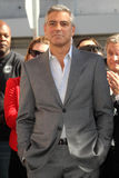 George Clooney, puits de John photos libres de droits
