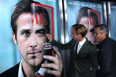 George Clooney, Ryan Gosling Images libres de droits
