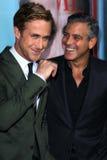 George Clooney, Ryan Gosling Stock Image