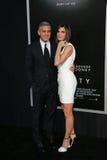 George Clooney, Sandra Bullock Obraz Royalty Free