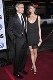 George Clooney, Sarah Larson Royalty Free Stock Photos