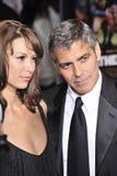 George Clooney, Sarah Larson Royalty Free Stock Images