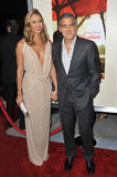 George Clooney, Stacy Keibler, Royalty Free Stock Photo