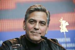 George Clooney uczęszcza ` grad, Caesar! ` Obraz Royalty Free