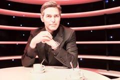 George Clooney-Wachsstatue in Museum Madame Tussauds stockfoto