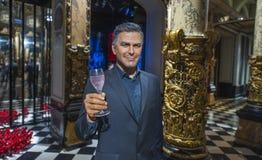 George Clooney Wax Figure stock image