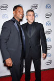 George Clooney,Will Smith Royalty Free Stock Photos