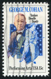 George Cohan. UNITED STATES - CIRCA 1978: stamp printed by United states, shows George Cohan, circa 1978 Stock Photography