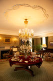 George Eastman House. The sitting room in the George Eastman House in New York, America royalty free stock photos