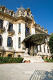 """George Enescu Museum - Bucharest. Named after the great romanian composer and violonist, the """"George Enescu"""" National Museum is hosted inside Cantacuzino Stock Image"""