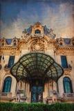 George Enescu Museum. George Enescu National Museum in the city center of Bucharest Romania Stock Photos