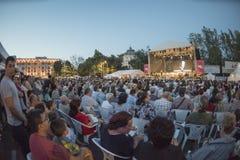 George Enescu Music Fesival à Bucarest Image libre de droits