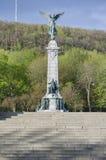 George-Etienne Cartier-standbeeld Stock Afbeelding