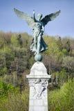 George-Etienne Cartier-standbeeld Stock Fotografie