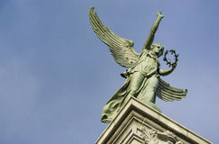 George-Etienne Cartier-standbeeld Royalty-vrije Stock Foto's
