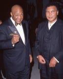 George Foreman och Muhammad Ali fotografering för bildbyråer