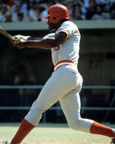 George Foster, Cincinnati Reds. Former Cincinnati Reds OF George Foster. (Image taken from color slide royalty free stock photography