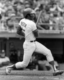 George Foster. New York Mets OF George Foster, #15.  (Image taken from B&W negative Stock Photo