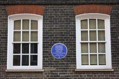 George Frideric Handel Plaque in London Stock Image