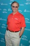 George-Gefährten an der Callaway Golf-Grundlagen-Herausforderung, die Unterhaltungsindustrie-Grundlagen-Krebs-Forschungsprogramme  Lizenzfreie Stockfotografie