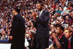 George Gervin San Antonio Spurs royaltyfri foto