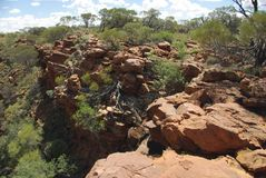 George Gill Range, Australia Royalty Free Stock Photography