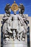 George Gordon Meade Memorial Civil War Statue-Washington DC Stock Foto's