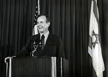 George H W Bush royaltyfria foton