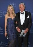 George Hamilton & Alana Stewart Royalty Free Stock Image
