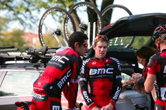George Hincapie and BMC Team Stock Photography
