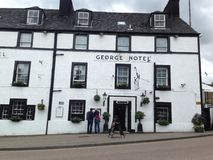 George Hotel in Inveraray, Schotland Stock Afbeelding