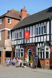 George IV pub, Lichfield, England. Royalty Free Stock Images