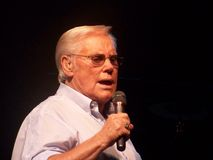 George Jones. In concert also known as The Possum is an american country music singer Royalty Free Stock Image