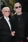 George Jones, Gregg Allman Stock Image