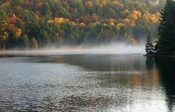 George Lake. Foggy sunrise on  George Lake, Killarney Park Royalty Free Stock Photography