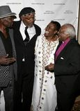 George Lopez και Desmond Tutu Στοκ Εικόνες