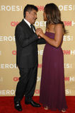 George Lopez,Laila Ali,CNN Heroes Stock Photography