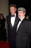 George Lucas,Harrison Ford Stock Images
