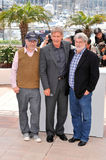George Lucas, Harrison Ford, Steven Spielberg Royalty Free Stock Photo