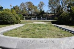 George Mason Memorial i Washington DC royaltyfri bild