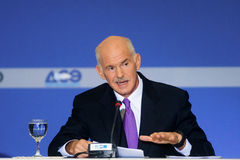 George Papandreou Stock Photos