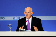 George Papandreou Photos stock