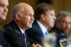George Papandreou Stock Image