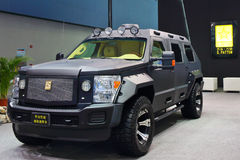 George Patton. A George Patton extreme SUV in Auto show Guangzhou 2013 Royalty Free Stock Photos