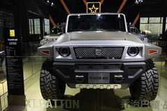 George Patton Sword off-roadvehicle Stock Images